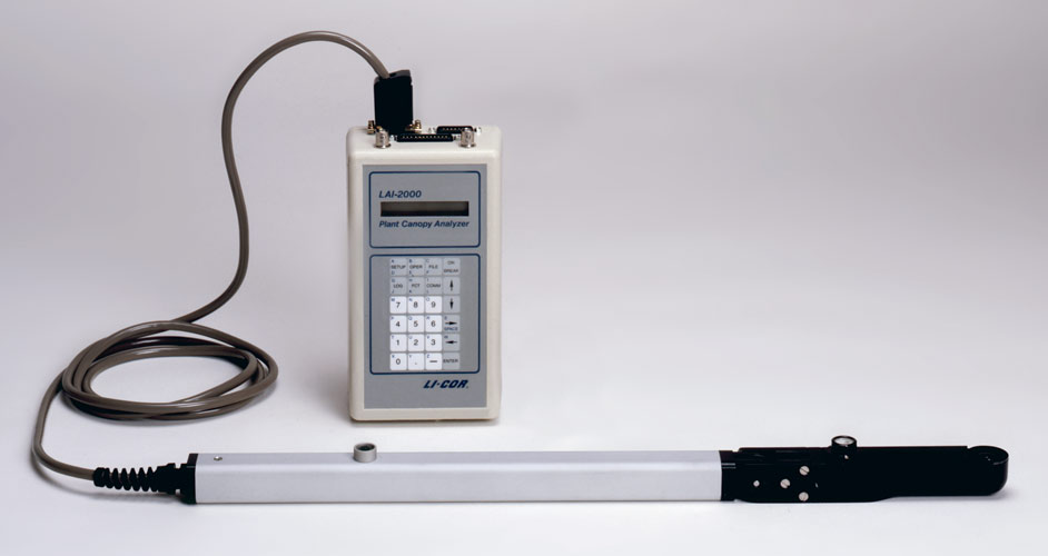 LAI-2000 Plant Canopy Analyzer