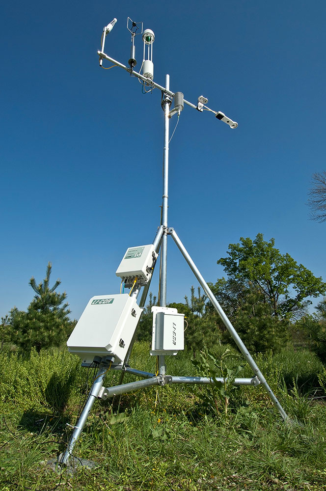 Heavy Duty Adjustable Tripod Eddy Covariance Systems