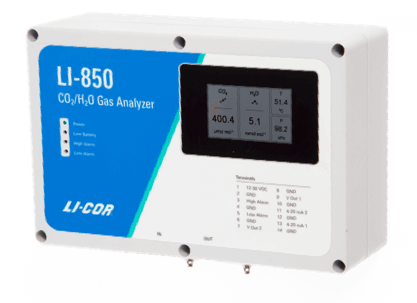 LI-850 CO2/H2O Analyzer