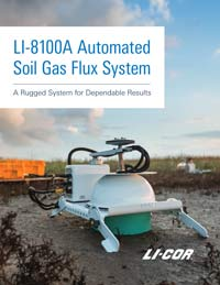 LI-8100A Automated Soil CO2 Flux System brochure