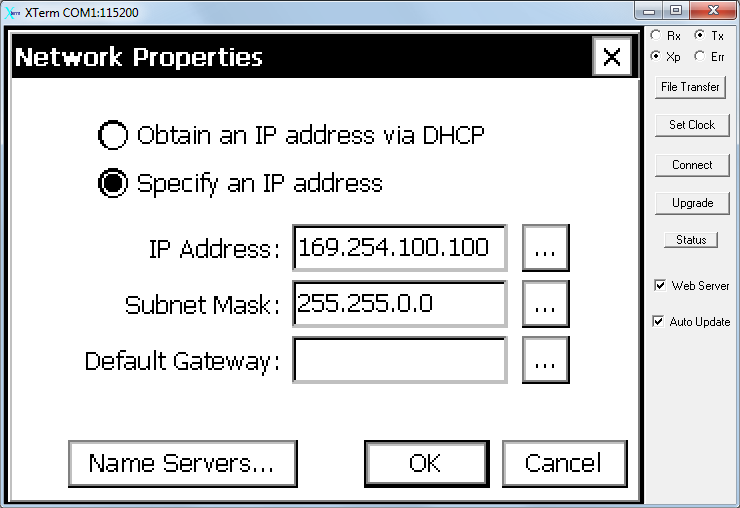 Acquiring network address xp wireless validating