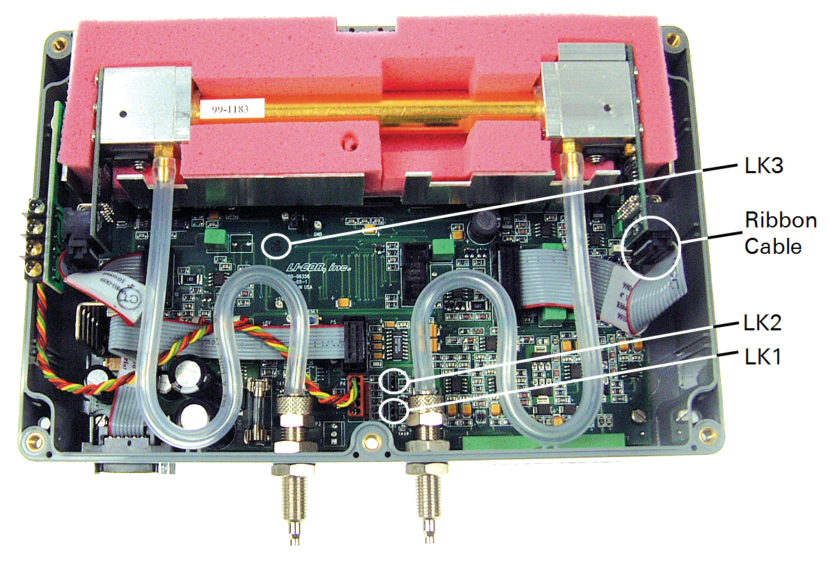 LI-820   Source, Detector, and Optical Path Replacement