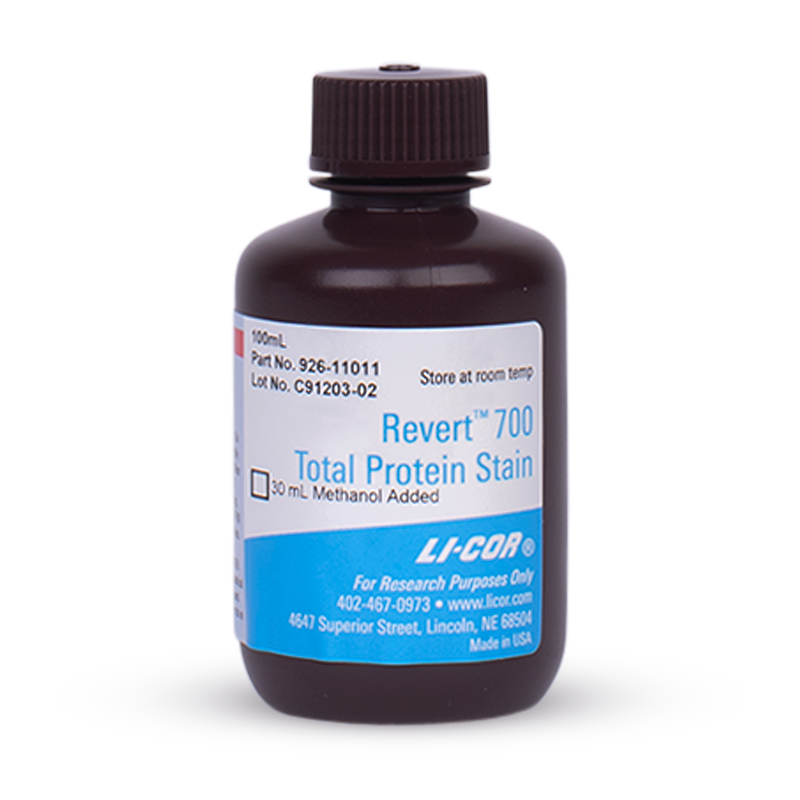 Revert 700 Total Protein Stain for Western Blot Normalization