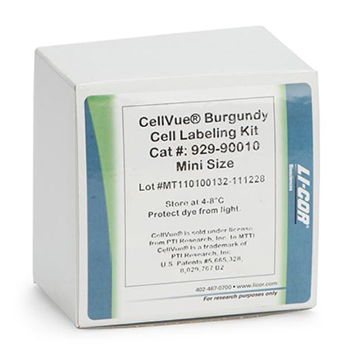 CellVue Burgundy Fluorescent Cell Labeling Kit from LI-COR.