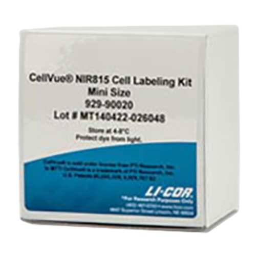 CellVue NIR815 Fluorescent Cell Labeling Kit from LI-COR.